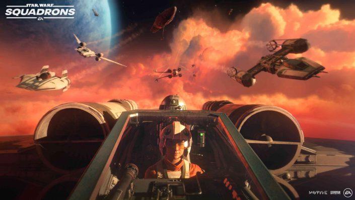 Star Wars Squadrons: Gameplay-Trailer enthüllt umfangreiche Spielszenen