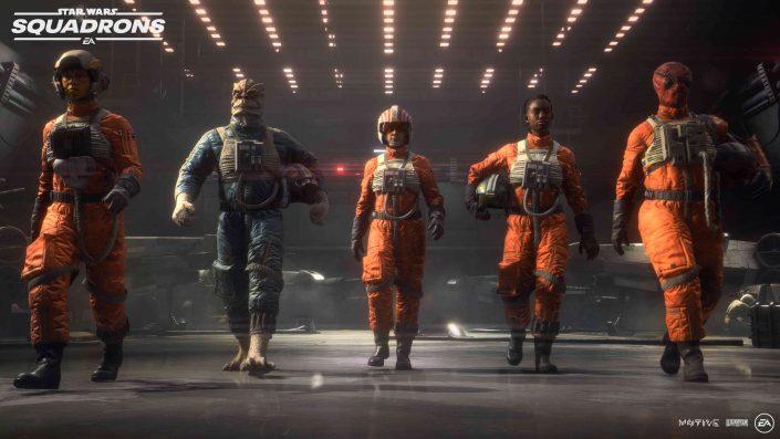 Star Wars Squadrons: Update 1.08 behebt Darstellungsfehler auf der PS5 und weitere Probleme