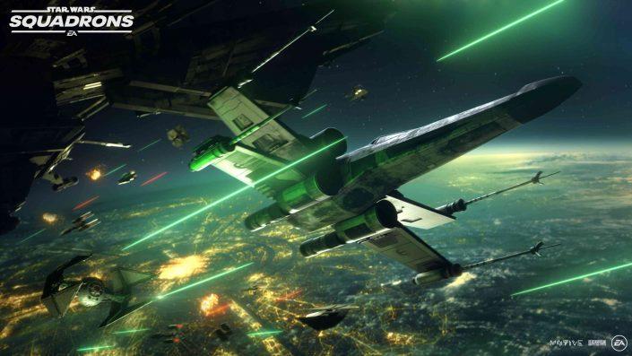 Star Wars Squadrons: Gameplay-Video ermöglicht einen ausführlichen Blick auf den Singleplayer