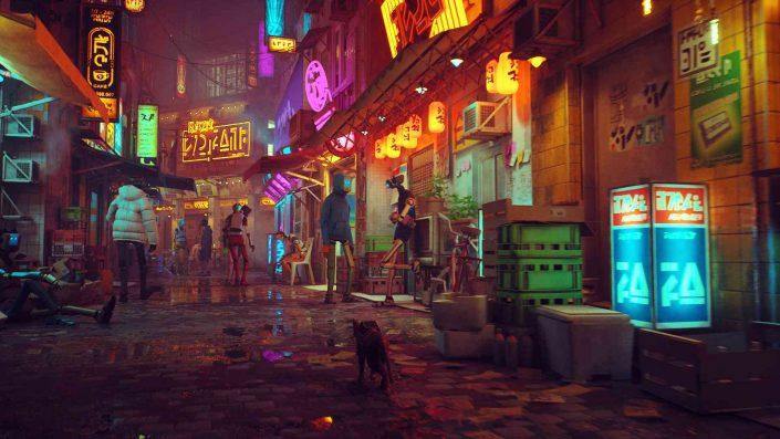 Stray: Frische Gameplay- und Story-Details zum düsteren Katzen-Abenteuer für die PS5