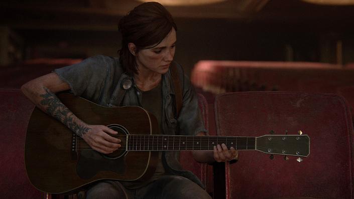 The Last of Us Part II – Ellie und ihre Gitarre