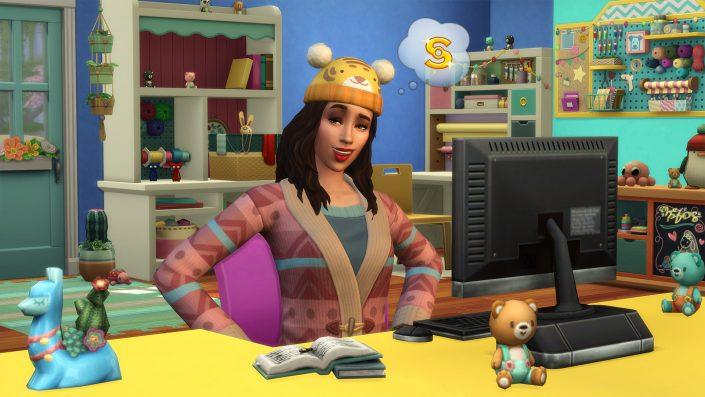 Die Sims 4: Schick mit Strick-Accessoires-Pack angekündigt