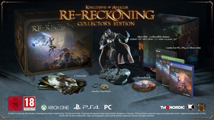 Kingdoms of Amalur Re-Reckoning: Termin, Collector's Edition und Trailer enthüllt