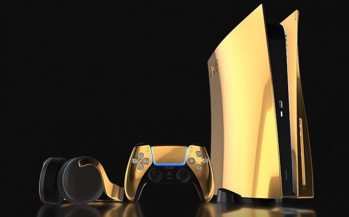 PS5: 24K Gold-Modell für Spieler mit Luxus-Ambitionen