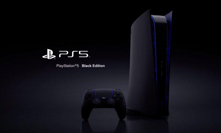 PS5: Black Edition im Video – Entwurf zeigt schwarze Konsole