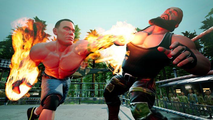 WWE 2K Battlegrounds: Die Modi im neuen Video vorgestellt