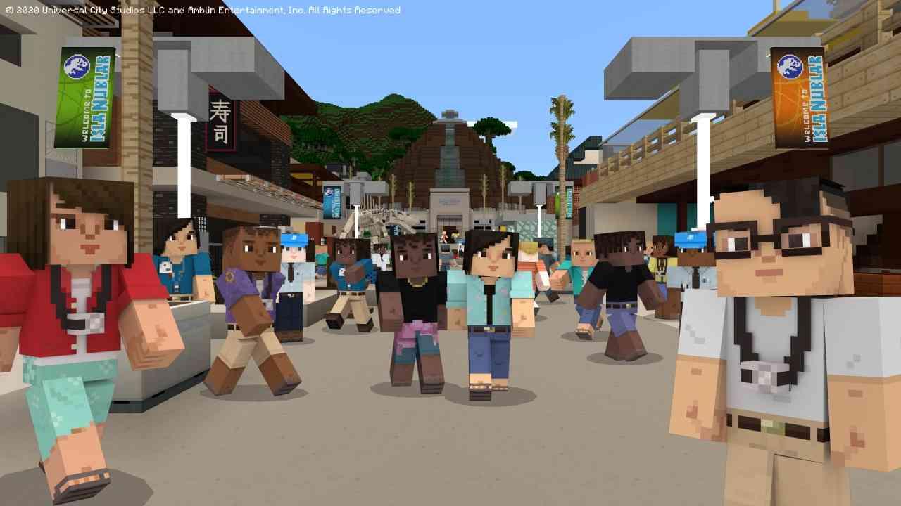 Minecraft Jurassic World – Bild 3