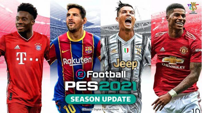 PES 2021: Konami stellt die Cover-Stars des Season Updates vor