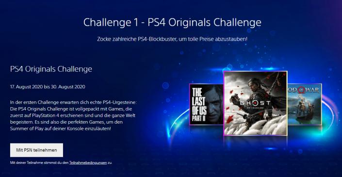 PS4: Sony startet Trophäen-Challenge mit Preisen