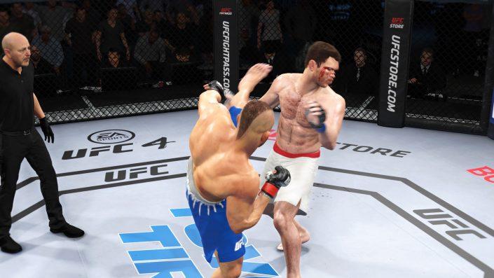 EA Sports UFC 4: Notfall-Update 2.03 behebt verschiedene Bugs