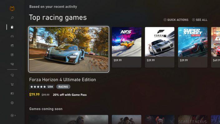 Xbox Series X: Microsoft stellt das User Interface vor