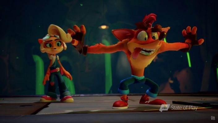 Crash Bandicoot 4 It's about Time: Zahlreiche neue Details und Gameplay-Szenen enthüllt