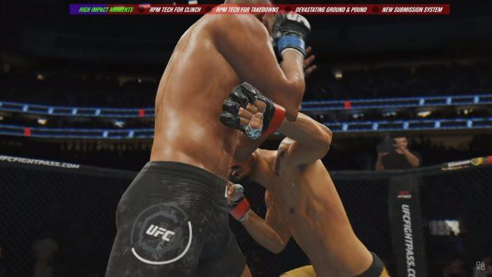 UFC 4: Verbessertes Kampfsystem ausführlich vorgestellt