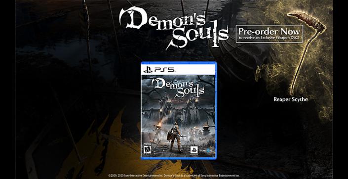 Demon's Souls: PS5 vs PS3 in Videos und Hinweis auf Vorbesteller-Bonus