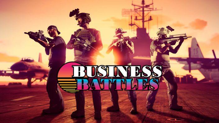 GTA Online: Doppelte Belohnungen auf Konkurrenzkämpfe, Land Grab und Gunrunning-Verkäufe