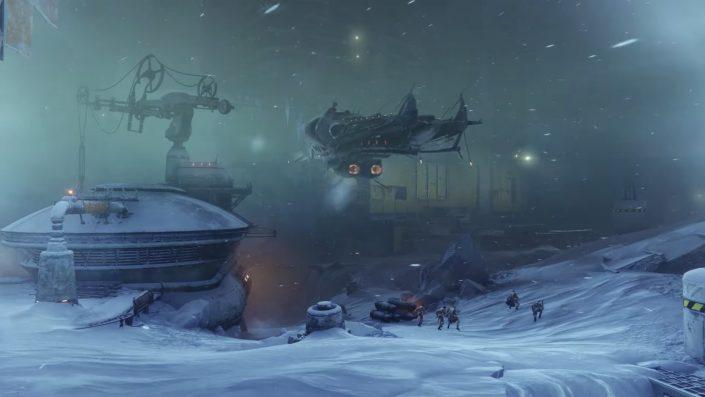 Destiny 2 Jenseits des Lichts: Trailer stellt Jupiter-Mond Europa vor