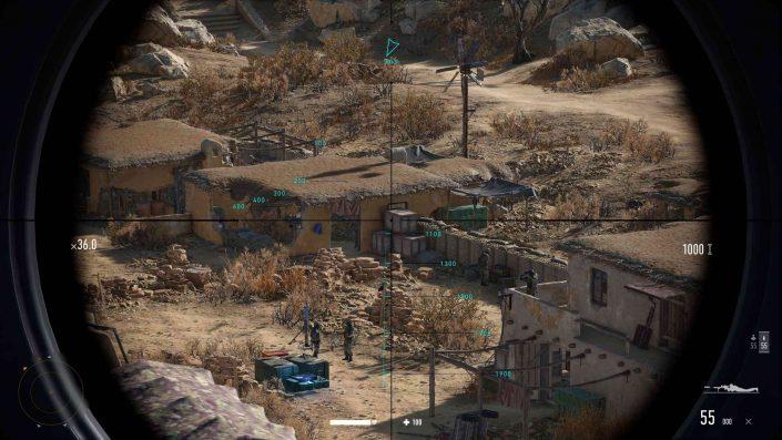 Sniper Ghost Warrior Contracts 2: Die angestrebte Performance auf PS5 und neuer Gameplay-Trailer