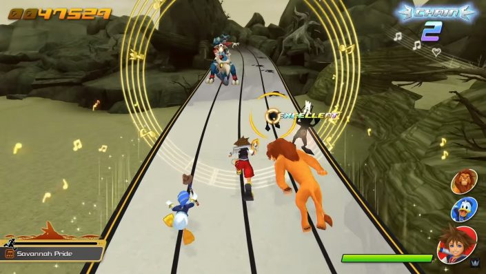 Kingdom Hearts Melody of Memory: Demo-Version ab morgen spielbar