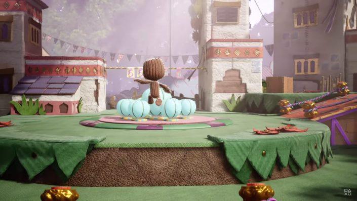 Sackboy A Big Adventure: Der Coop-Plattformer zeigt sich im neuen Story-Trailer