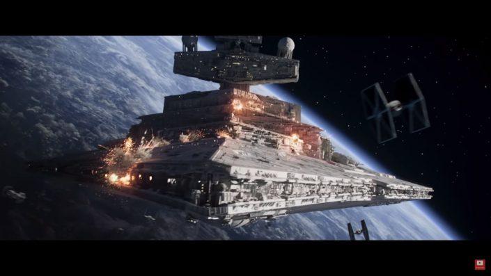 """Star Wars Squadrons: Animierter Kurzfilm """"Hunted"""" zeigt spektakuläre Gefechte"""