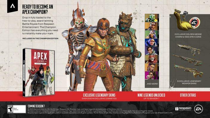 Apex Legends: Champions Edition mit 100 Dollar teuren Inhalten angekündigt