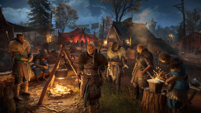 Assassin's Creed Valhalla: Update 1.2.0.1 behebt Absturzursachen