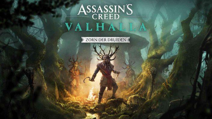 """Assassin's Creed Valhalla: Weitere Bilder zu """"Zorn der Druiden"""" erschienen"""
