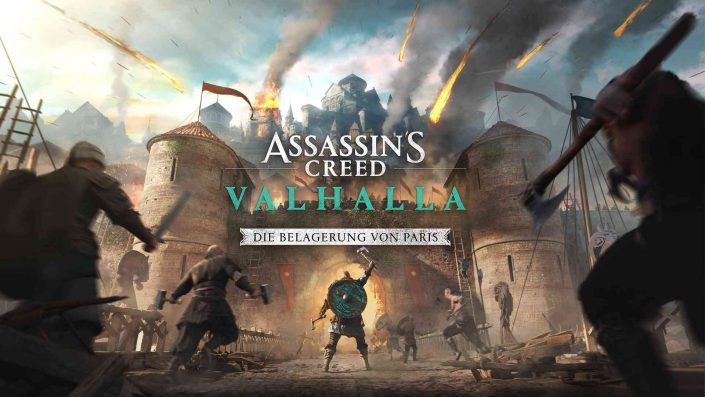 """Assassin's Creed Valhalla: Termin von """"Die Belagerung von Paris"""" bestätigt"""