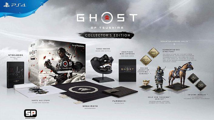 Ghost of Tsushima: Gewinnt zum Start von Legends die Collector's Edition