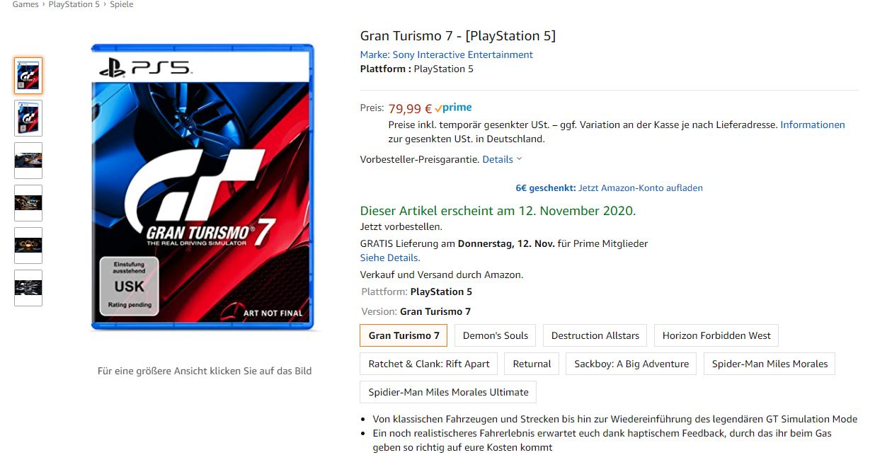 Gran Turismo 7 Release Date