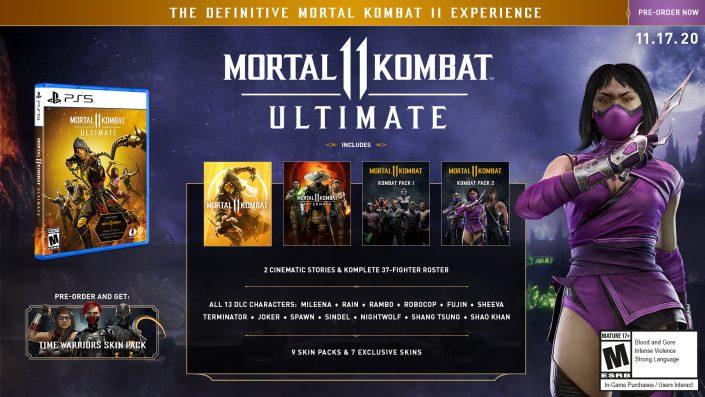 Mortal Kombat 11 Ultimate: Erweiterte Version für PS5 angekündigt