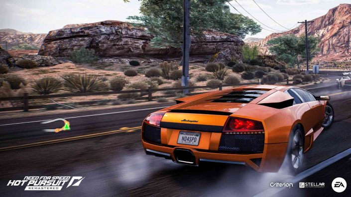 Need for Speed Hot Pursuit: Remastered-Version im Videovergleich