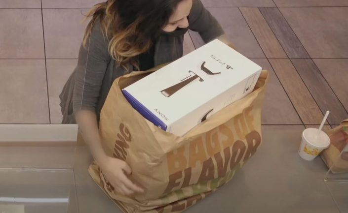 PS5: Video zeigt Retail-Box bei Burger King