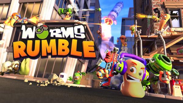 Worms Rumble: Finaler Releasetermin und Start der Open-Beta verkündet