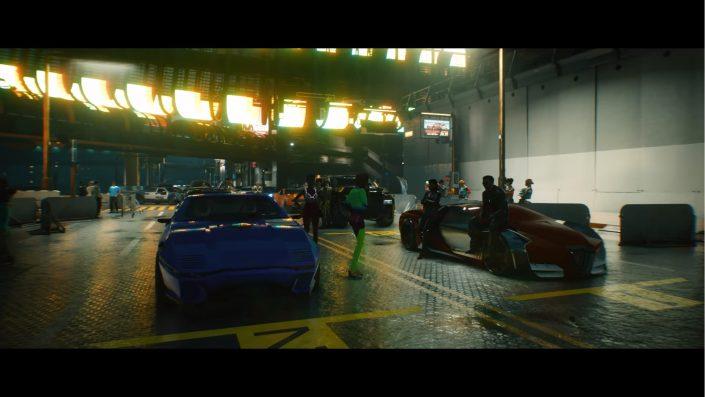 Cyberpunk 2077: Neue Videos zeigen Fahrzeugklassen, Spielwelt und Keanu Reeves