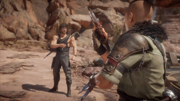 Mortal Kombat 11: DLC-Charakter Rambo im Gameplay-Trailer