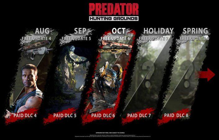 Predator Hunting Grounds: Monatliches Update verfügbar – neues DLC vorgestellt