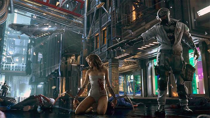 Cyberpunk 2077: Opening zum Rollenspiel und offizieller Livestream
