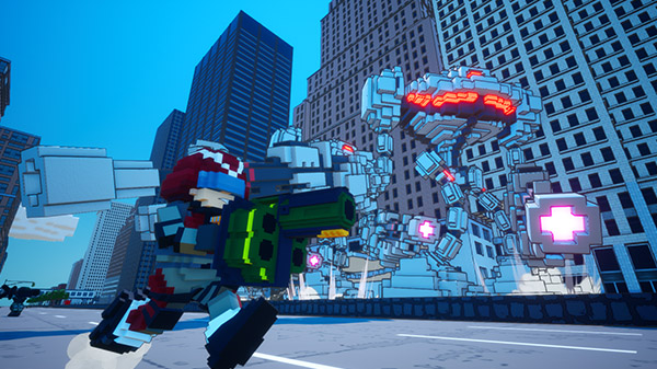 Earth Defense Force World Brothers: Releasetermin & Trailer zum Voxel-Shooter