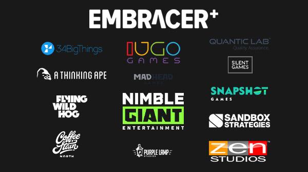 Embracer Group: Hat elf weitere Studios aufgekauft