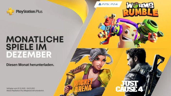 """PS Plus Dezember 2020: Liste mit """"Gratis-Games"""" für PS4 und PS5 enthüllt"""