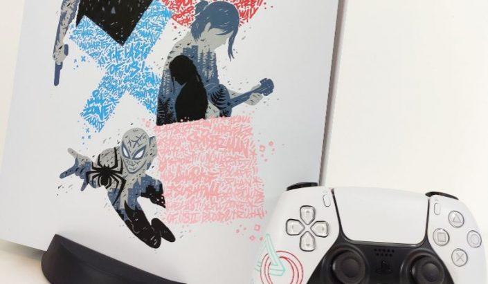 PS5 Custom-Look: Schwarz, Spider-Man, Batman und weitere Designs