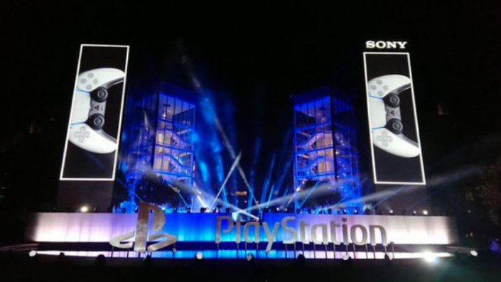 PS5: Light-Show zum Launch der Next-Gen-Konsole