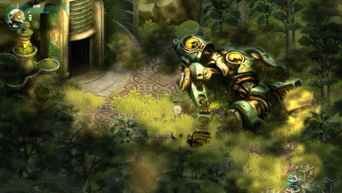 Retro Machina: Handgezeichnetes Puzzle-Adventure mit einem Trailer angekündigt