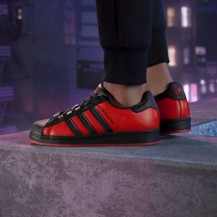 Spider-Man Miles Morales: Adidas-Sneaker zum Spiel angekündigt