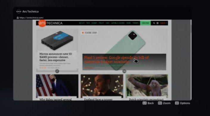 PS5: Versteckter Web-Browser mit Klickorgien