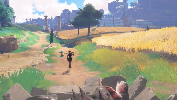 Immortals Fenyx Rising: Gameplay-Aufnahmen der PS5-, Switch- und Xbox Series-Versionen