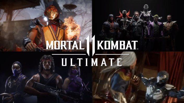 Mortal Kombat 11: Launch-Trailer zur Ultimate-Edition eingetroffen