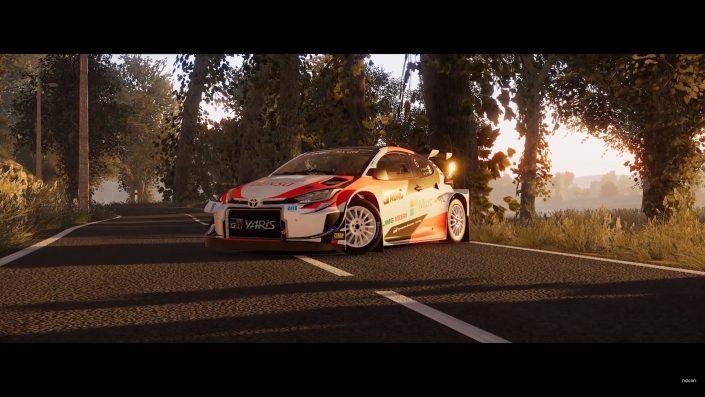 WRC 9: Neuer Rennwagen mit Trailer vorgestellt – nächstes Update im Dezember