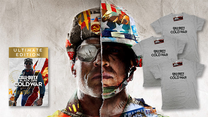 CoD Black Ops Cold War: Wir verlosen 3 T-Shirts und die Ultimate Edition
